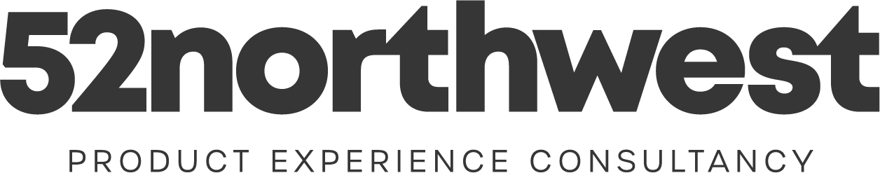 Logo - 52northwest Product Experience Consultancy